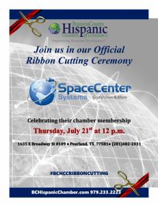 Final Space Center Ribbon Cutting Flyer no bev